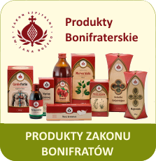 Produkty Bonifraterskie zioła